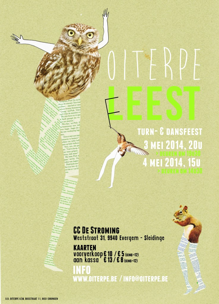 Affiche feest 2014